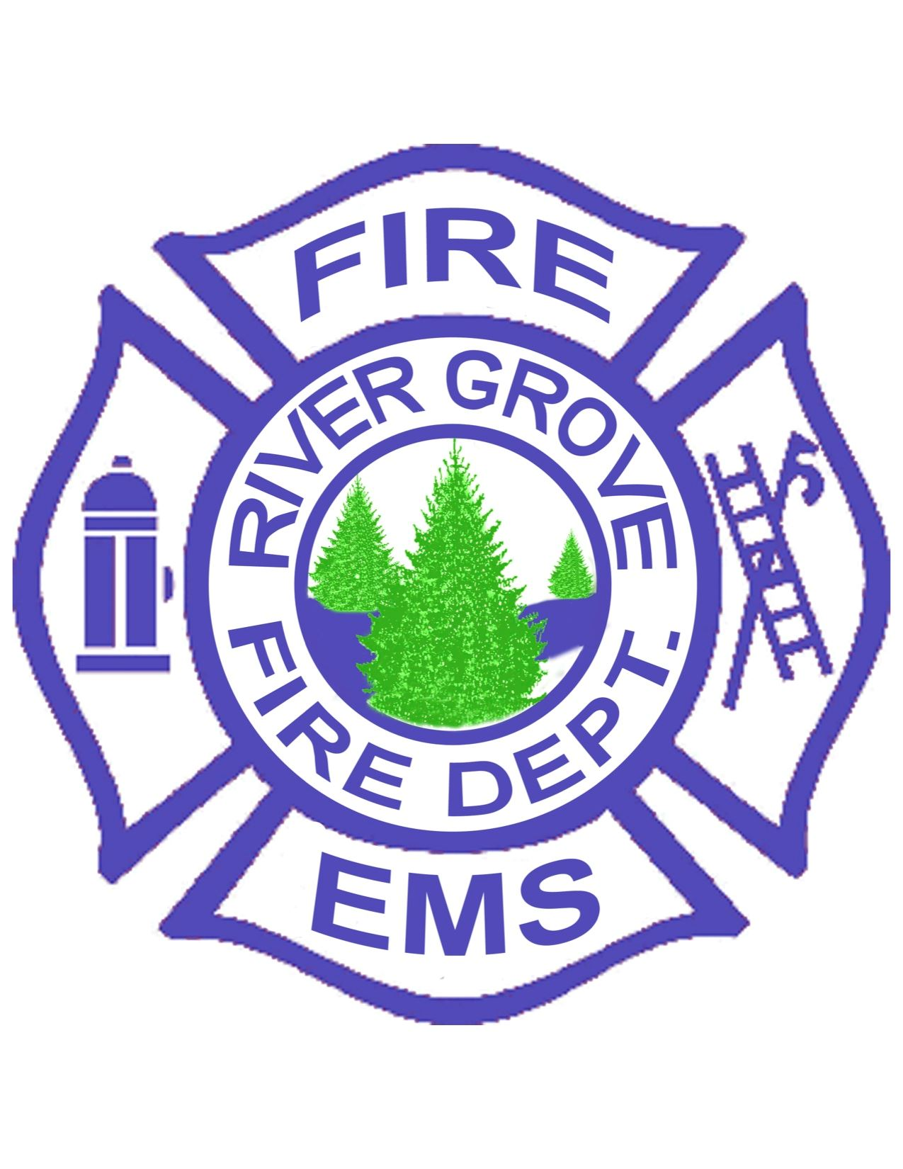 River Grove Fire Department logo