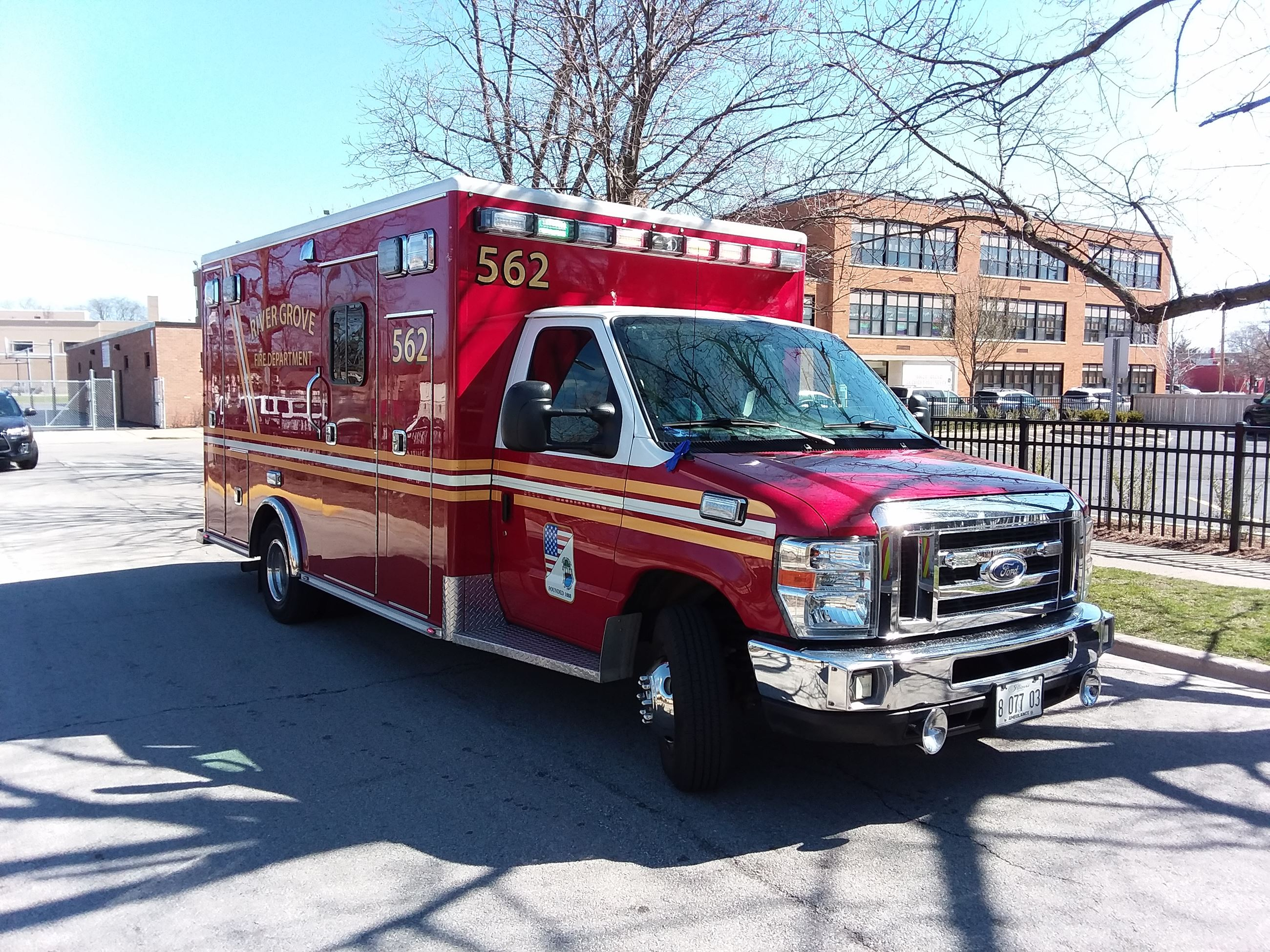 River Grove Fire Department Ambulance
