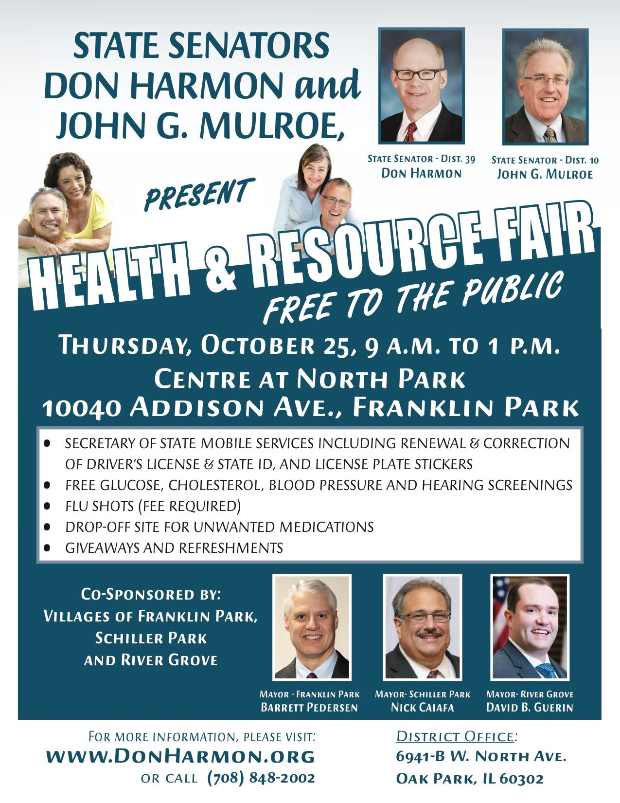 Health Resource Fair Flyer