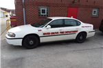 Fire Department Inspector's Vehicle